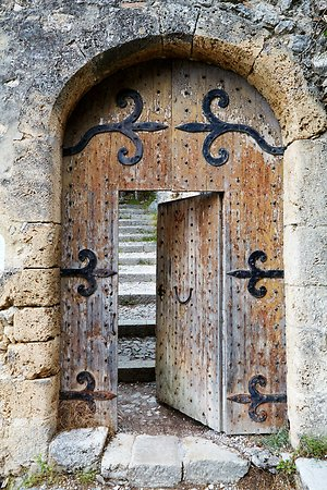 About Psychotherapy. Castle Door